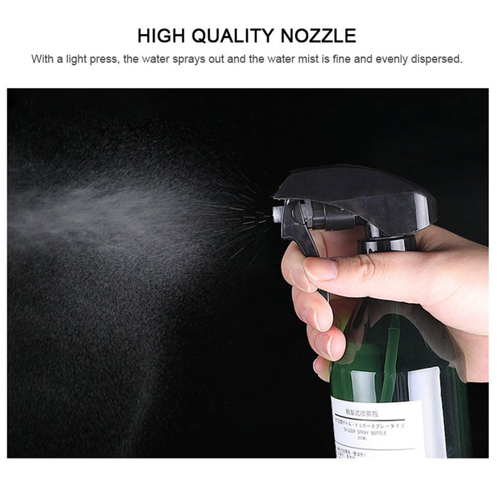Aolvo (300ML) Plastic Empty Spray Bottle Plant mister Mist Trigger  Sprayer/Refillable Spray Container - for Cleaning Solutions, Plants, Hair -