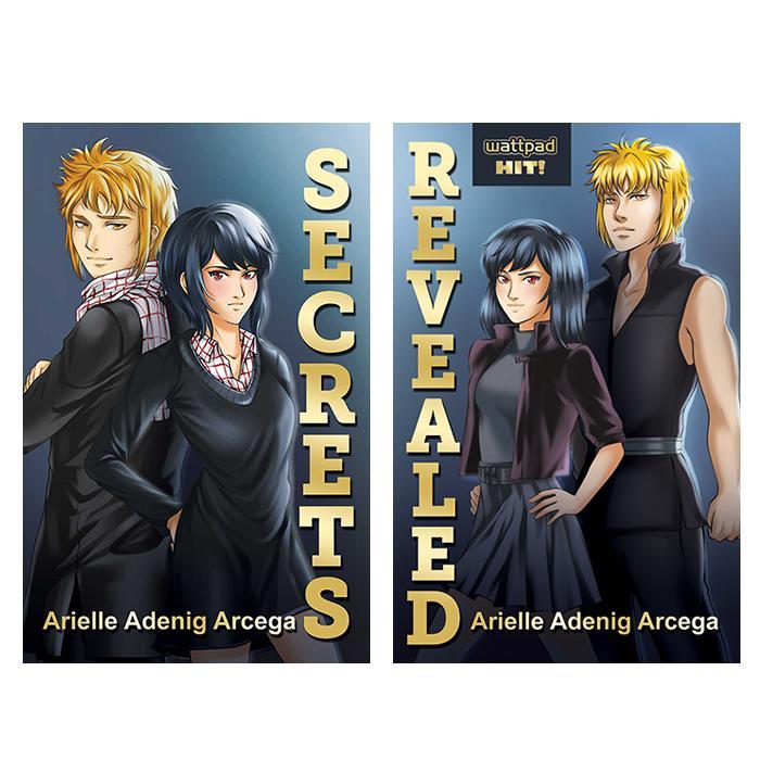 Secrets + Revealed by Arielle Adenig Arcega - Bundle of 2 Books