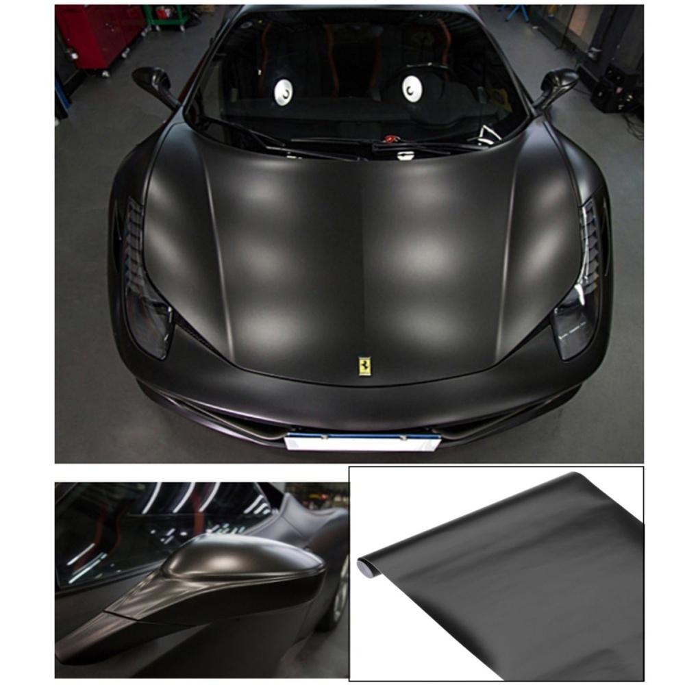 Black Matte Car >> 13 Color Premium Matte Flat Auto Car Vinyl Wrap Sticker Decal Bubble Air Release Black Intl