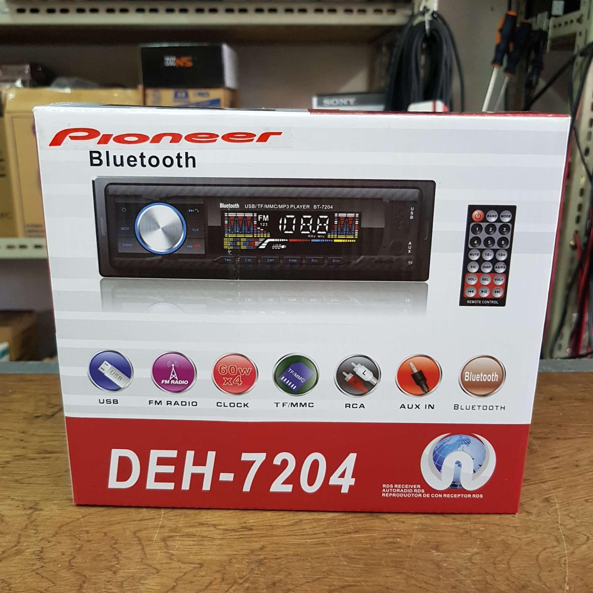PIONEER INSPIRED FM/TF/MMC/USB/BLUETOOTH CAR STEREO (DEH 7204