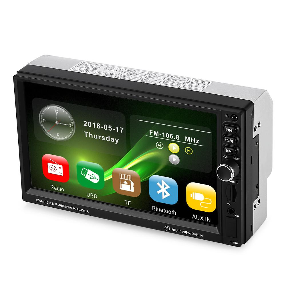 4019B 4 1quot 1 Din Bluetooth Car Radio Audio Stereo Player With Source · 8012 Universal 7 inch Touch Screen MP5 Car Multimedia Player with Camera