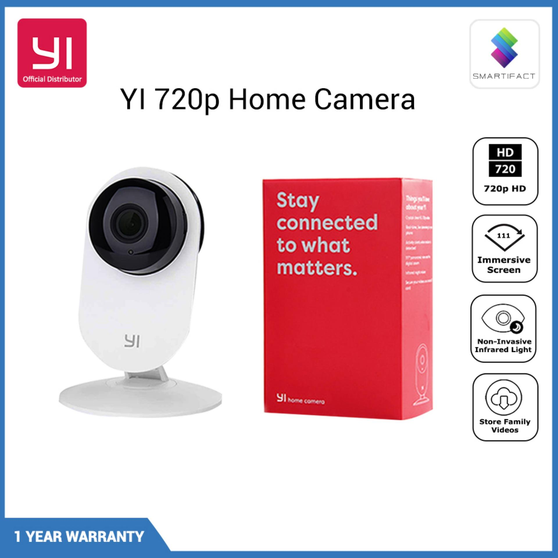 YI 720P Home Camera Wireless IP Security Surveillance System with Night Vision for Home Office Shop