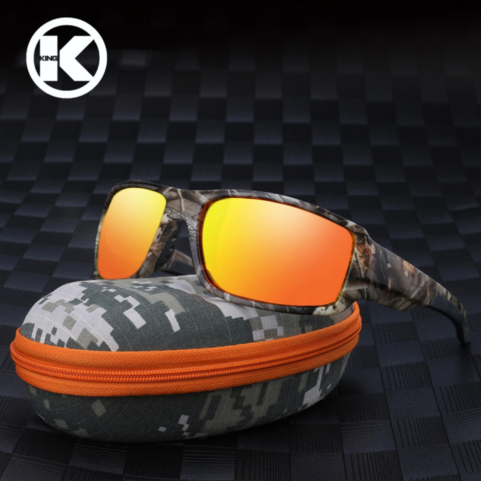 df2637907 Men Polarized Sunglasses Camouflage Frame Sport Sun Glasses Fishing Eyeglasses  Oculos De Sol Masculino - intl