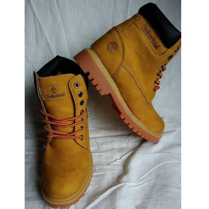 b604953c4b4 Timberland Boots (Yellow and Black)