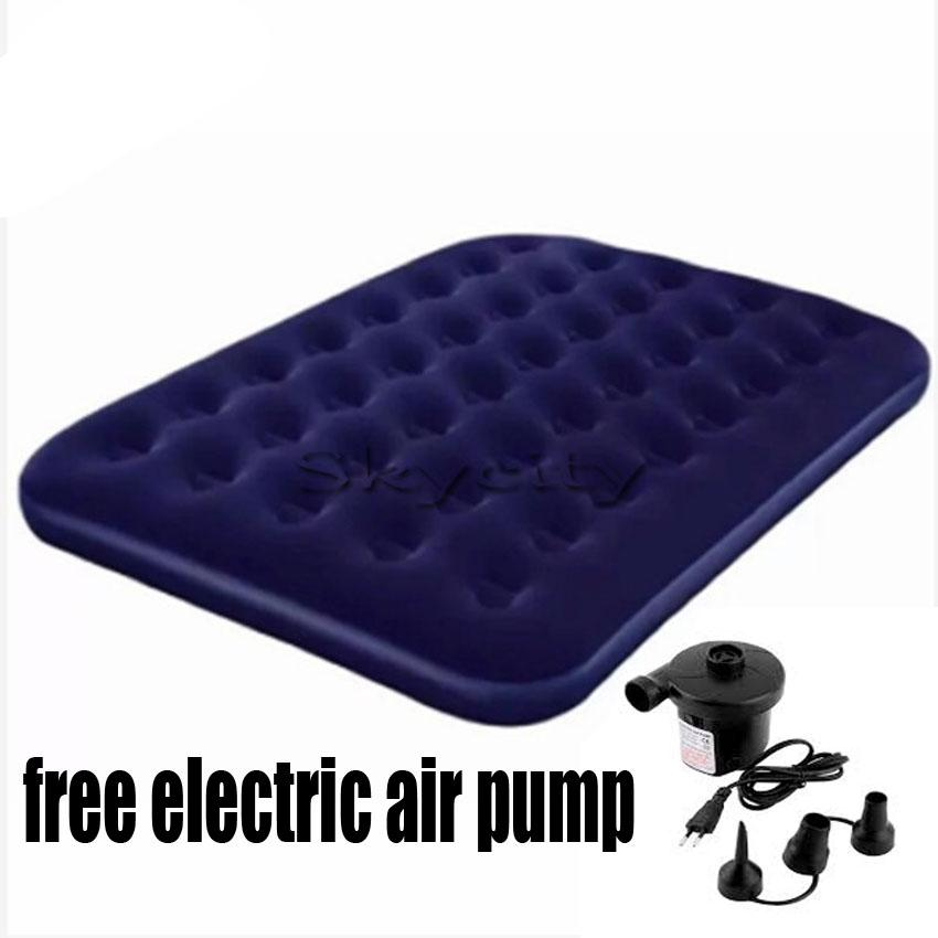 Luckyhome Bestway Double Inflatable Air Bed Free Electric Air Pump By Luckyhome.