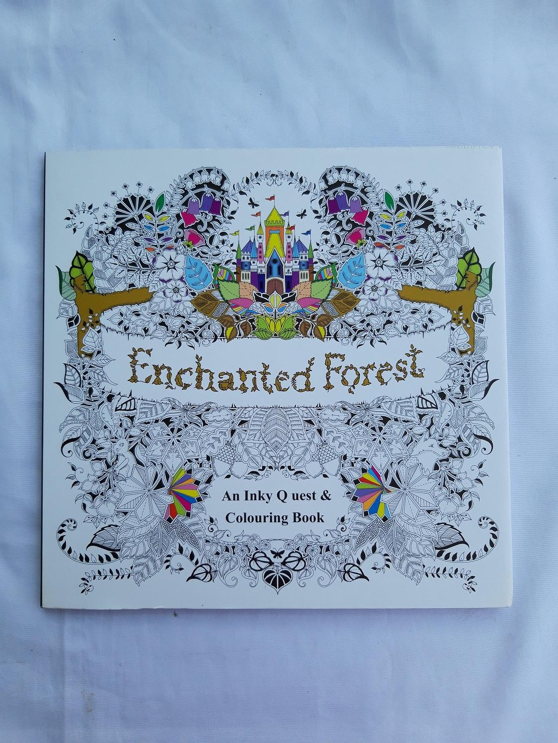 EnchantedForest Adult Coloring Book