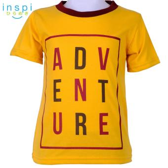 INSPI Kids Boys ADVENTURE (Gold) tshirt top tee t shirt for boys shirts clothing clothes