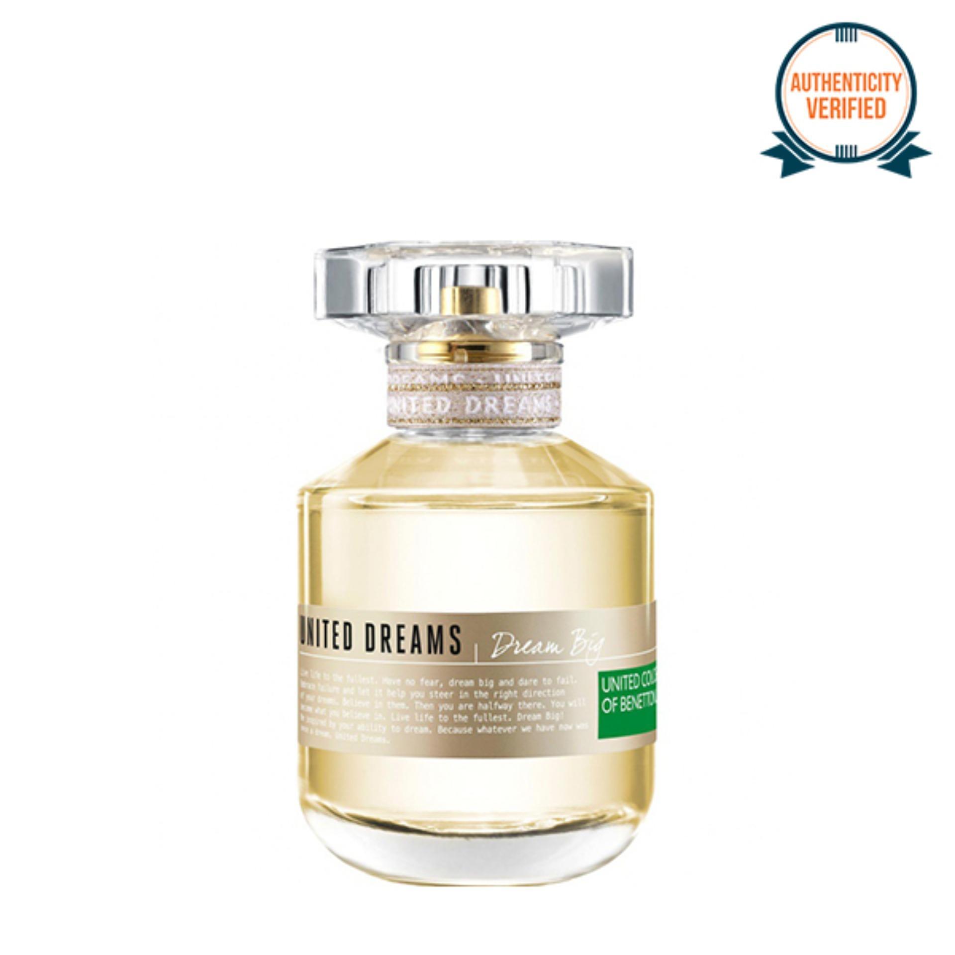 United Colors Of Benetton Fragrances Philippines B Jeans Edt Man Parfum 100ml 100 Original Dreams Dream Big Eau De Toilette For Women 80ml