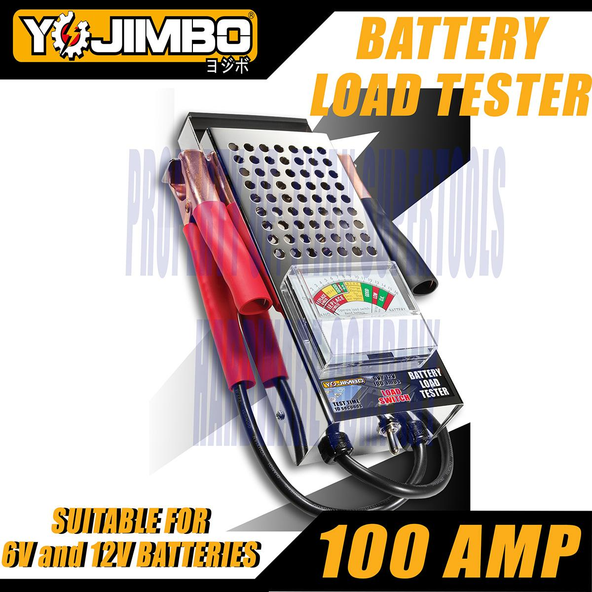 Car Battery Tester For Sale Load Online Brands Auto Light Alligator Clip Dc 624v 12v Test Circuit Voltage Yojimbo Yj Blt100a 6v 100 Amp