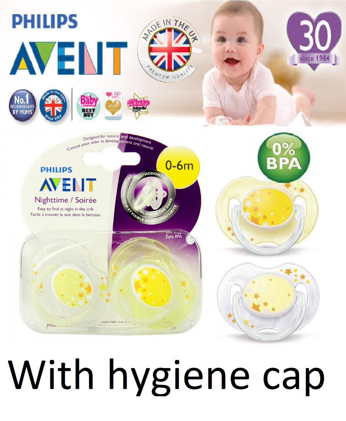 Pacifiers For Sale Baby Online Brands Prices Reviews Philips Avent 2 Pack Orthodentic Pacifier Soother 6 18m Pink Glow In The Dark Dummy Night Time Yellow Stars