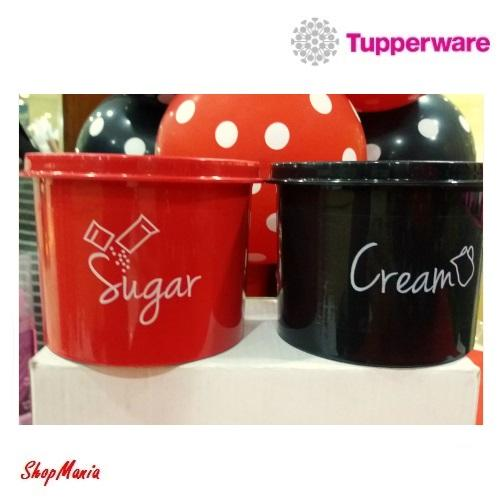 Cannister Coffe, Sugar Or Cream (2pcs) With Label Stickers By Shopmania.