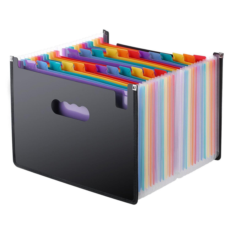 Folder Organizer. 7032 items found in Filing & Document Presentation. Expanding File Folder 24 Pockets, black Accordion A4 folder