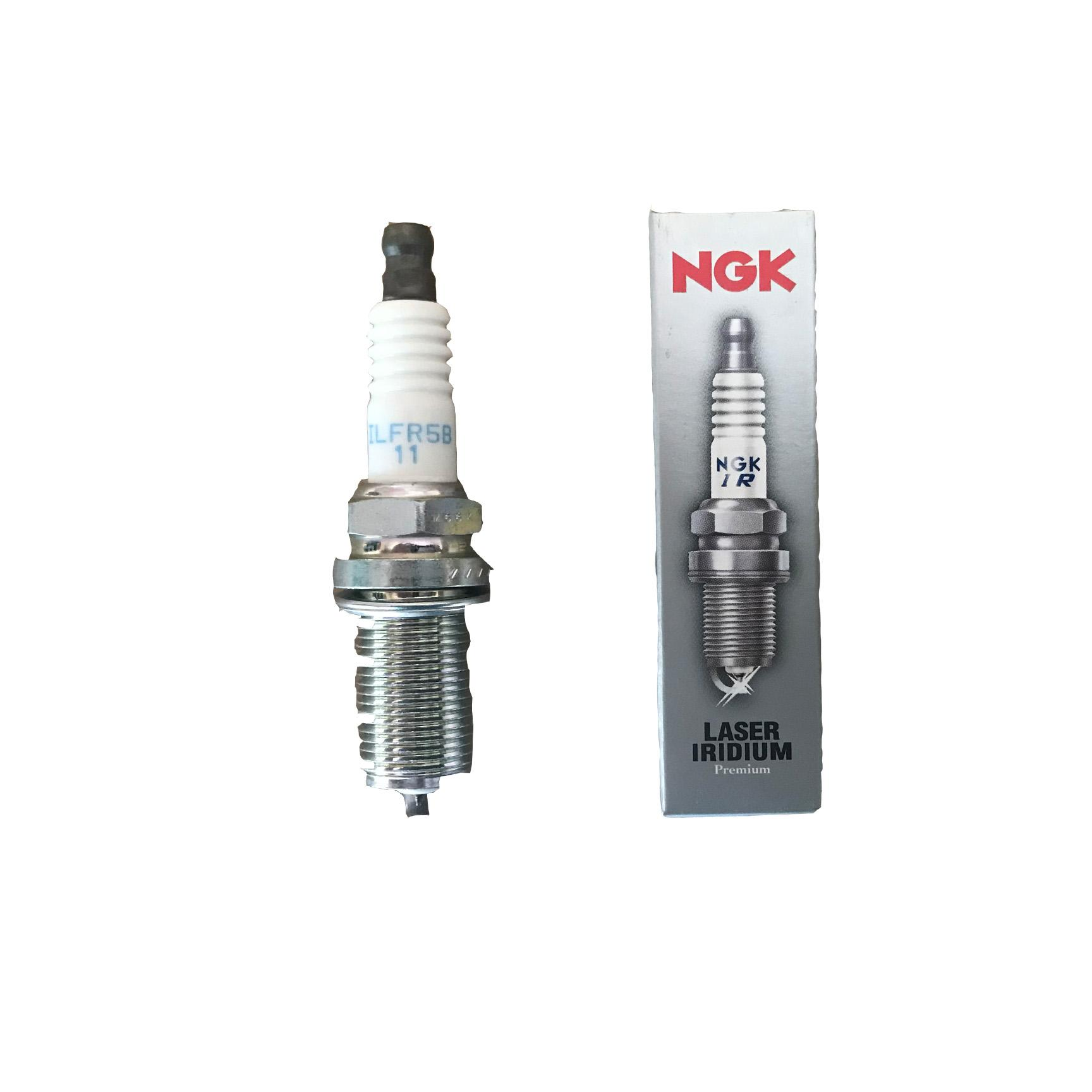 LZFR5BI-II NGK Laser Iridium Spark plugs for Mitsubishi Mirage and G4 2012-2016