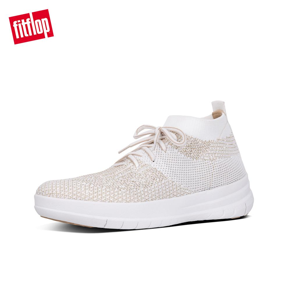 7be4696bf9b4 Fitflop Women s Shoes J30 UBERKNIT SLIP-ON HIGH TOP SNEAKER TEXTILE  ATHLEISURE lightweight comfort fashion