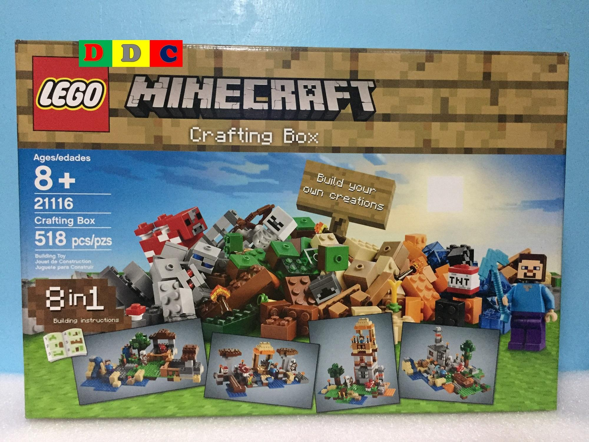 Buy Sell Cheapest Lego 21116 Minecraft Best Quality Product Deals 21134 The Waterfall Base Crafting Box