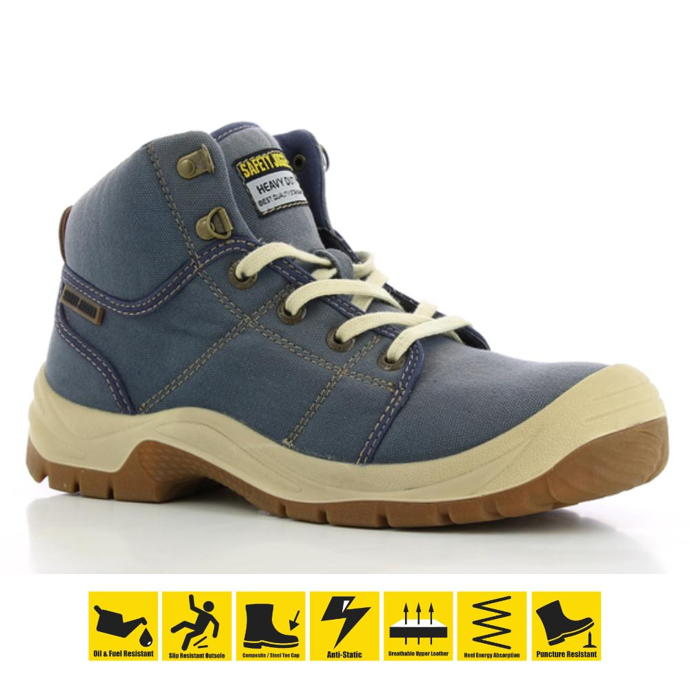 9487a610864914 Safety Jogger Desert S1P High Cut Safety Shoes Work Boot Footwear Steel Toe  Oil Resist Anti