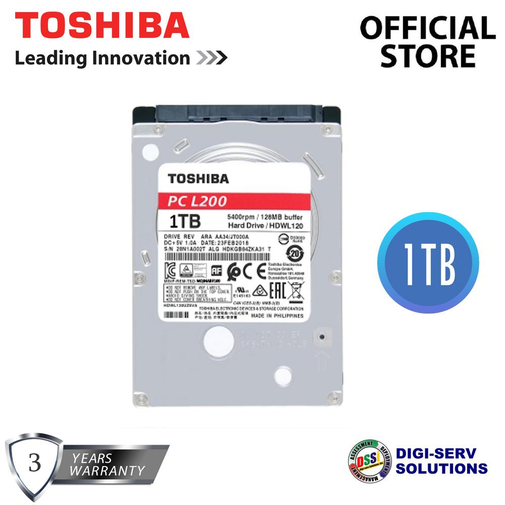 Hdd For Sale Hard Disk Drives Prices Brands Specs In Harddisk Pc 160 Gb Ide Komputer Desktop 160gb Toshiba Mq04abf100 1tb Sata 6gb S 128mb Cache 25 Inch Drive Laptop