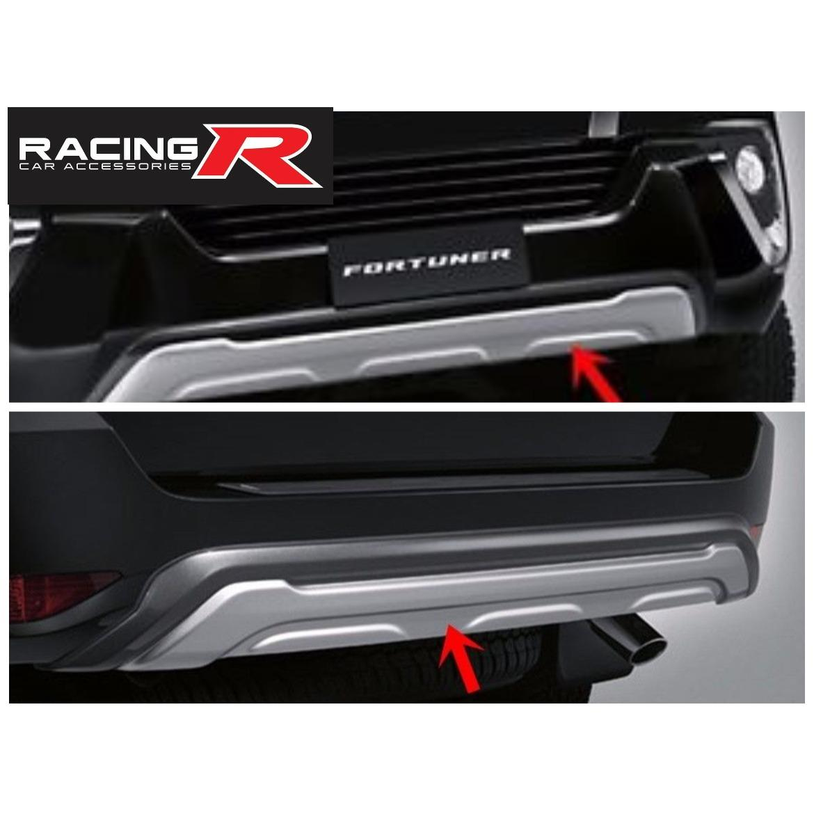 Toyota Fortuner (Front & Rear) (Nudge Bar) (Under Runner) Bumper 2016 to  2019