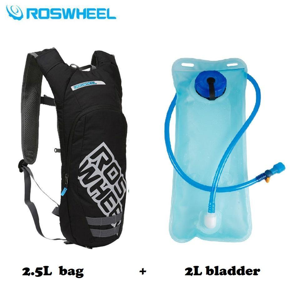 dd56e3aa2997 Roswheel 2.5L Hydration Pack Water Rucksack Backpack Bladder Bag Cycling  Bicycle Bike   Hiking Climbing