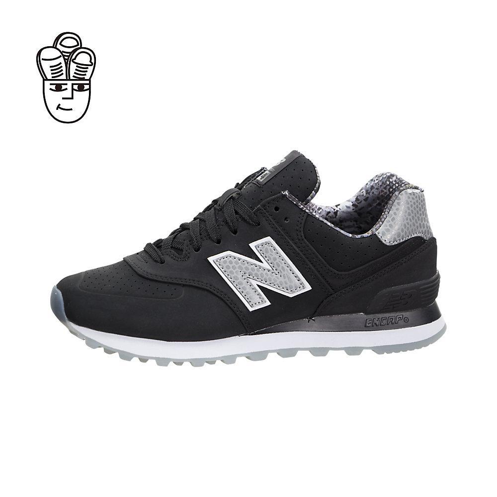Product details of New Balance Women 574 (Luxe Rep) Retro Running Shoes  Women wl574syc -SH b5927feb22