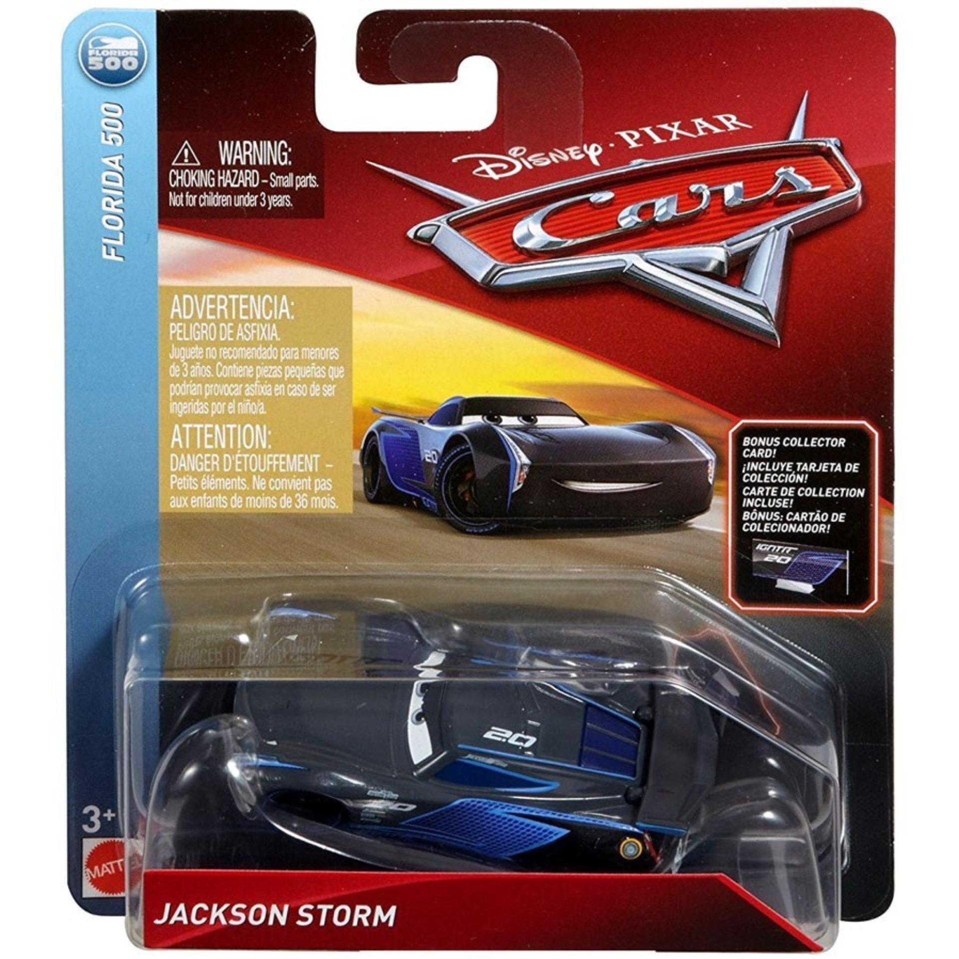 ef2faa537be6 Disney Cars 3 Die Cast Vehicle - Jackson Storm (Florida 500)