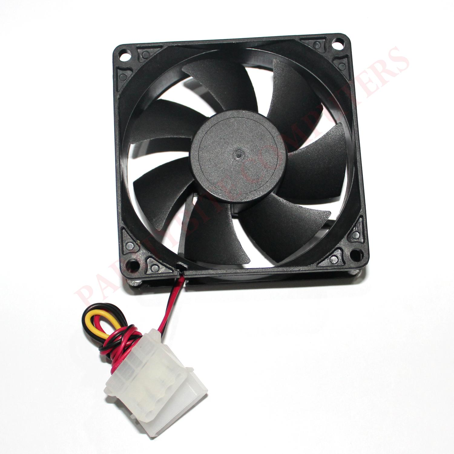 80mm Computer Case Fan 12v (case Cooling Fan) By Paritybite Computers.
