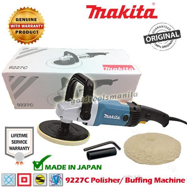 MAKITA 9227C Polisher / Buffing Machine ( MADE IN JAPAN )