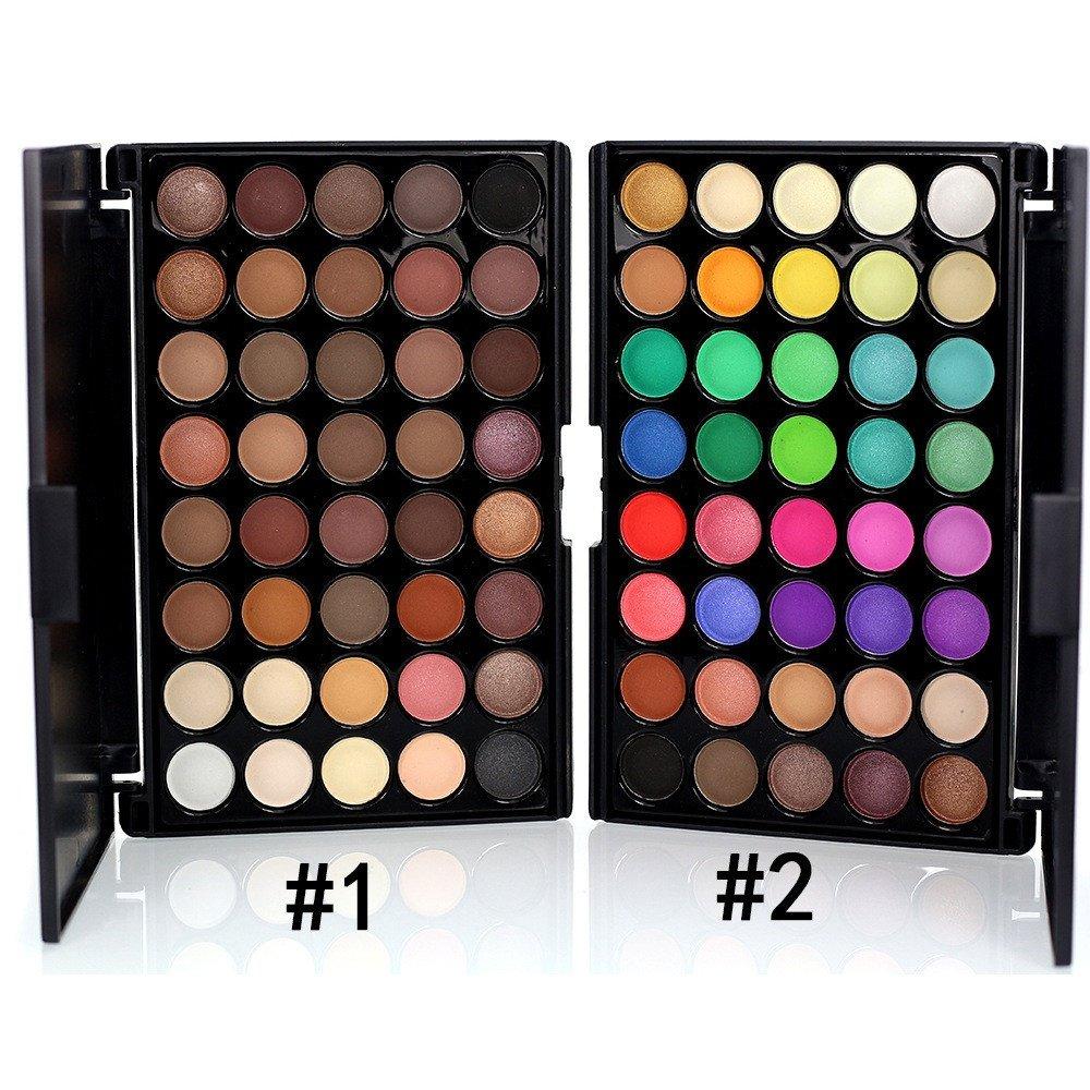 40 Color Matte Eyeshadow Pallete Make Up Palette Eye Shadow Glitter Natural  Easy to Wear Waterproof Lasting Makeup Pallete. aeProduct. 3c2d37a033