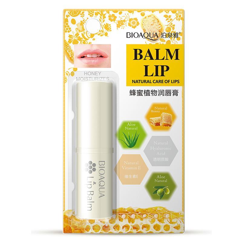 BIOAQUA Natural Aloe Honey Moisturizing Lip Balm 4g Philippines