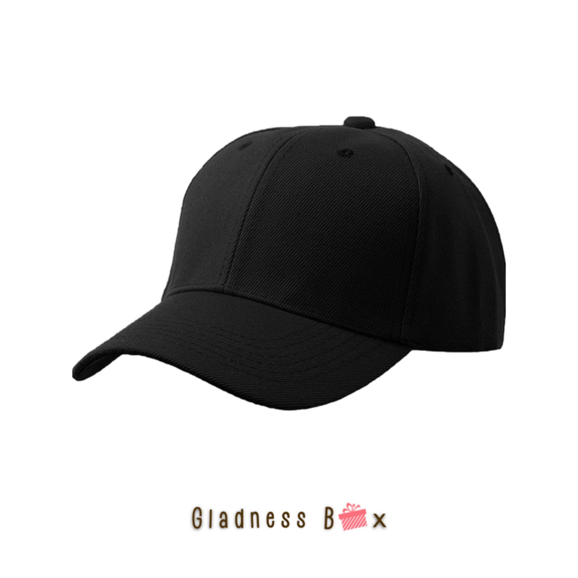 b45587f5865 Gladness Box High Quality Plain Baseball Cap for Men Women Unisex