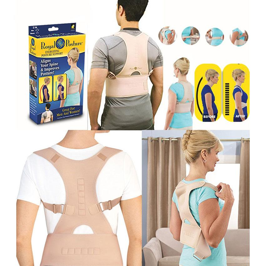 Zh-448 The Royal Posture Of Neoprene Magnetic Posture Corrector Return Support By Maia General Merchandise.