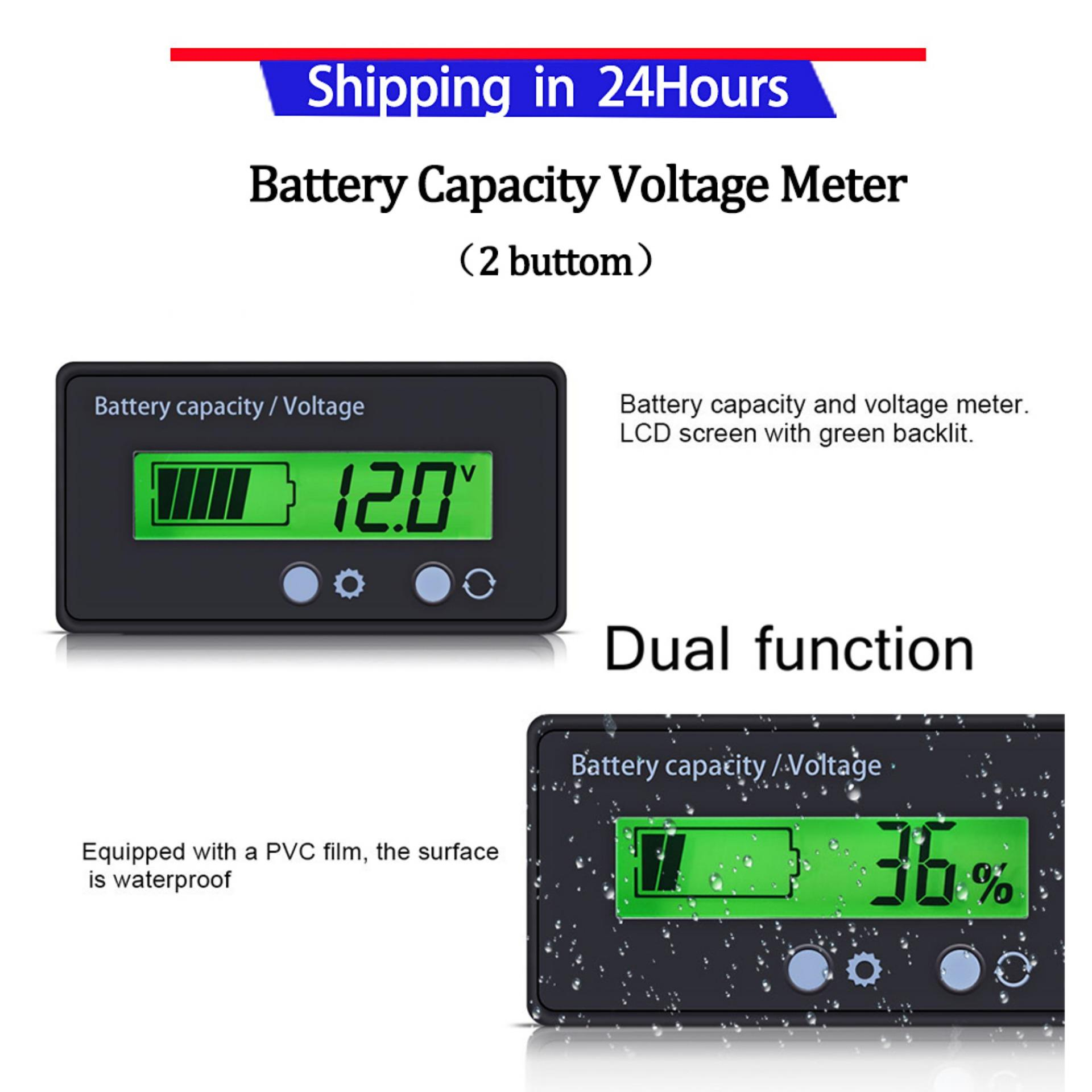 Buy Sell Cheapest 12v Battery Tester Best Quality Product Deals Voltage Indicator Promotiongreen Capacity Displaybattery Monitor Voltmeter
