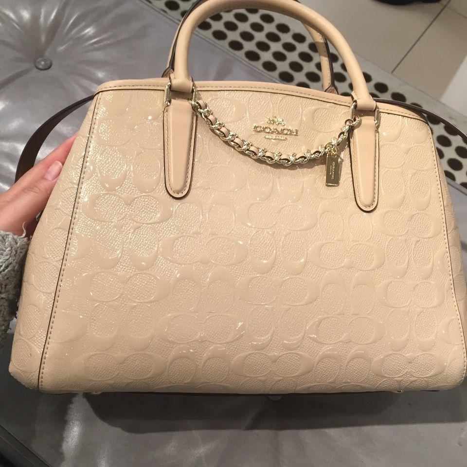 Sell Coach Margot Carryall Cheapest Best Quality Ph Store Small In Signature Canvas F34608 Authentic Chalkphp6492 Php 6492