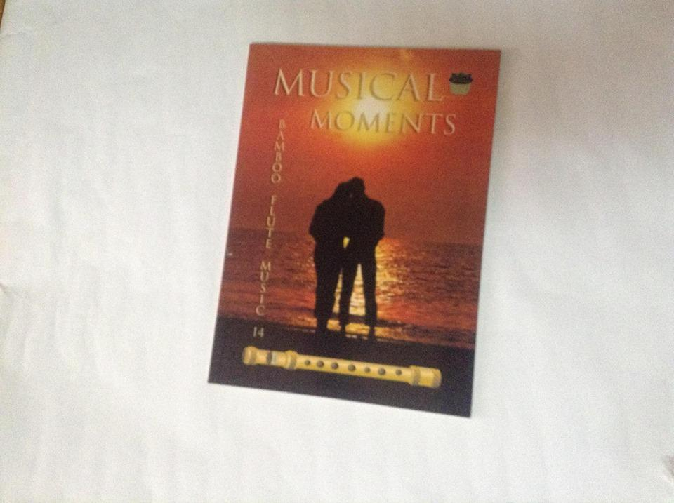 Kingflute Musical Moment Book 14 (orange) By Bamboo Instruments And Bamboo Products.