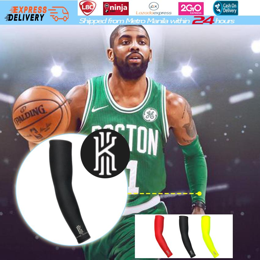 2cd1586e759a  Express Delivery 1PC Kyrie Irving Basketball Arm Sleeve with Logo Quick  Dry Cycling Running