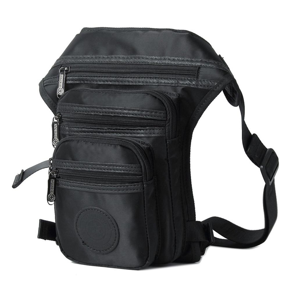Star Mall Men Fashionable Double-layer Sports Nylon Waistbag Casual Zipper  Crossbody Large Bags 2350a03e5c657