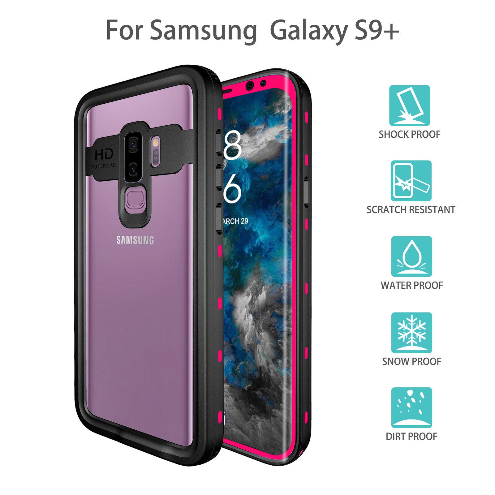 Red Pepper Waterproof Case for Samsung Galaxy S9 Plus Redpepper (6.2-Inch) IP68
