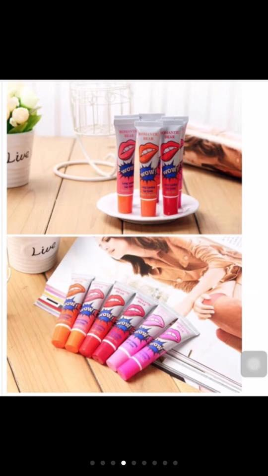 Wow Lip Color tattoo Set of 5 Philippines