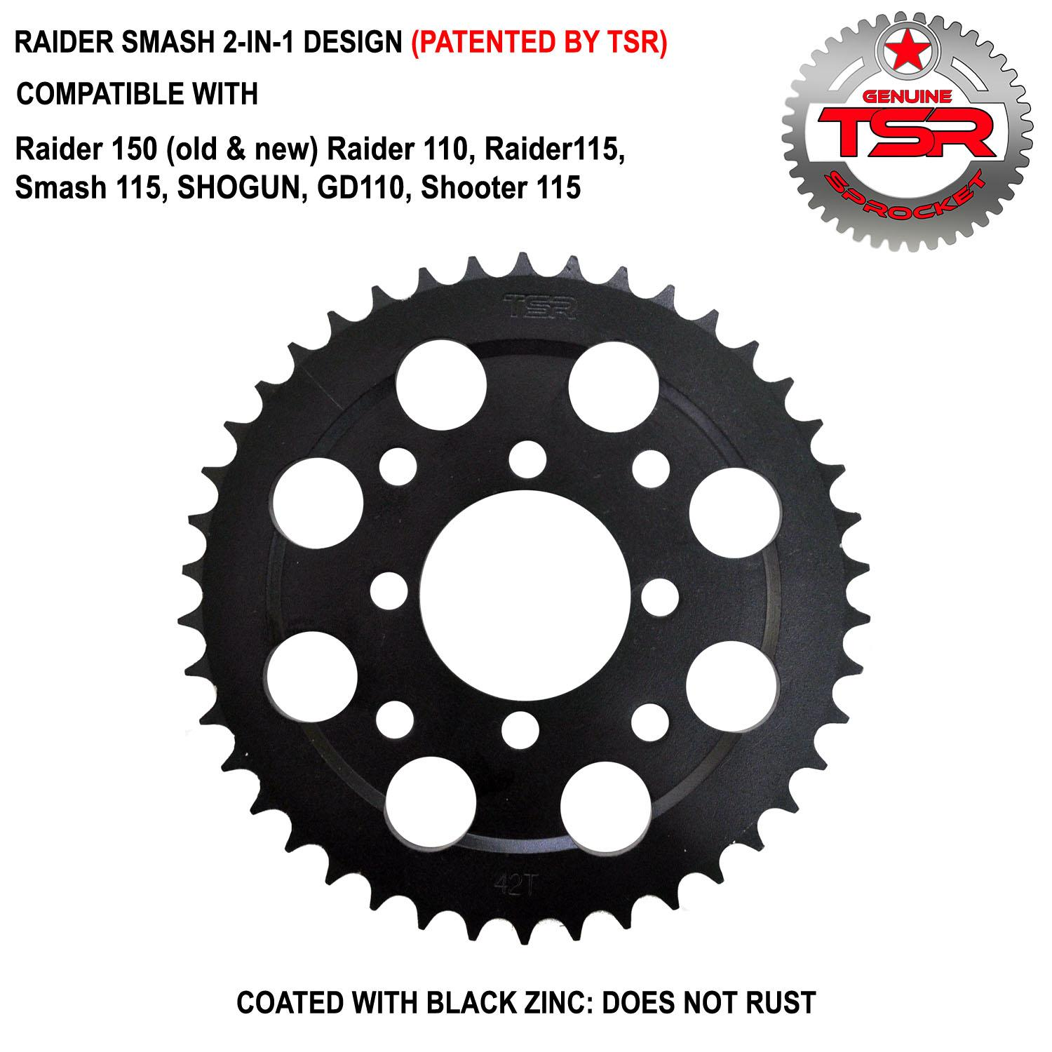 RAIDER/SMASH (2-IN-1) R  SPROCKET 38T