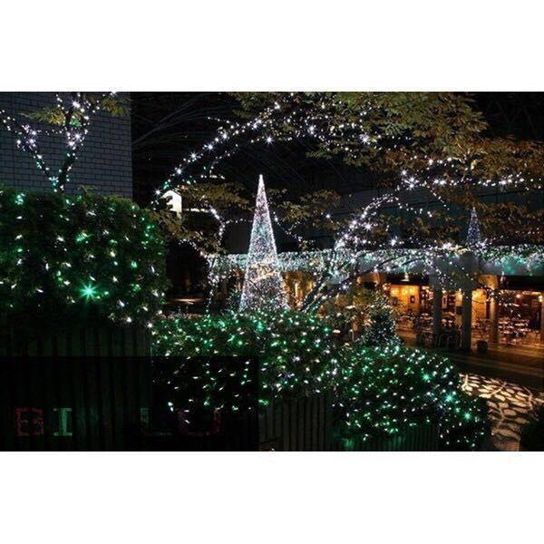 100 led outdoor solar powered string lights christmas lights binlu