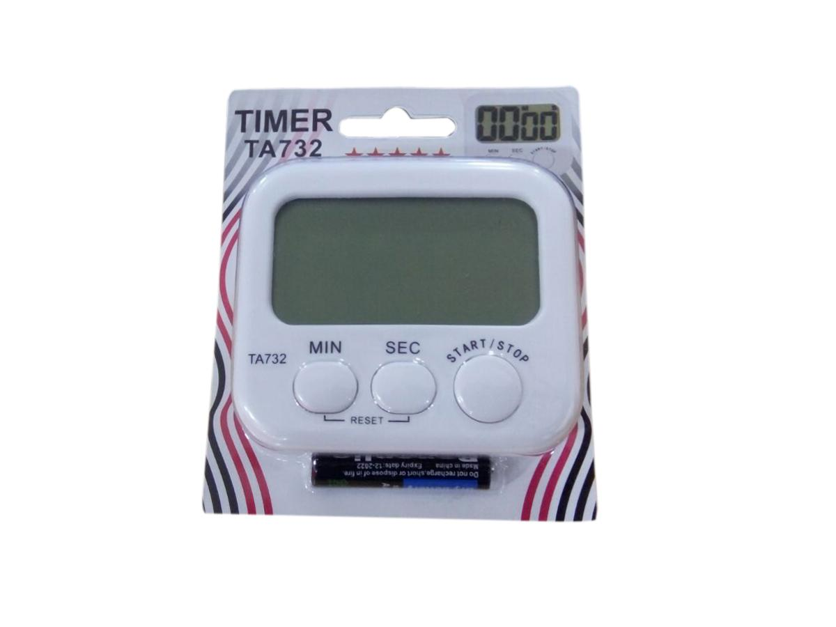 Handy Lcd Digital Table Magnet Alarm Clock Timer Ta732 By Aktive Sports.