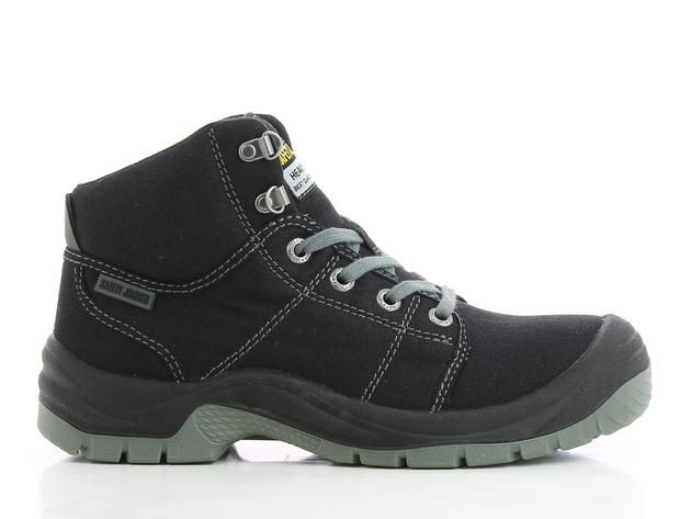d3421ce0a43 Safety Jogger Desert Steel Toe Cap and Steel Midsole Safety Shoes (BLACK)