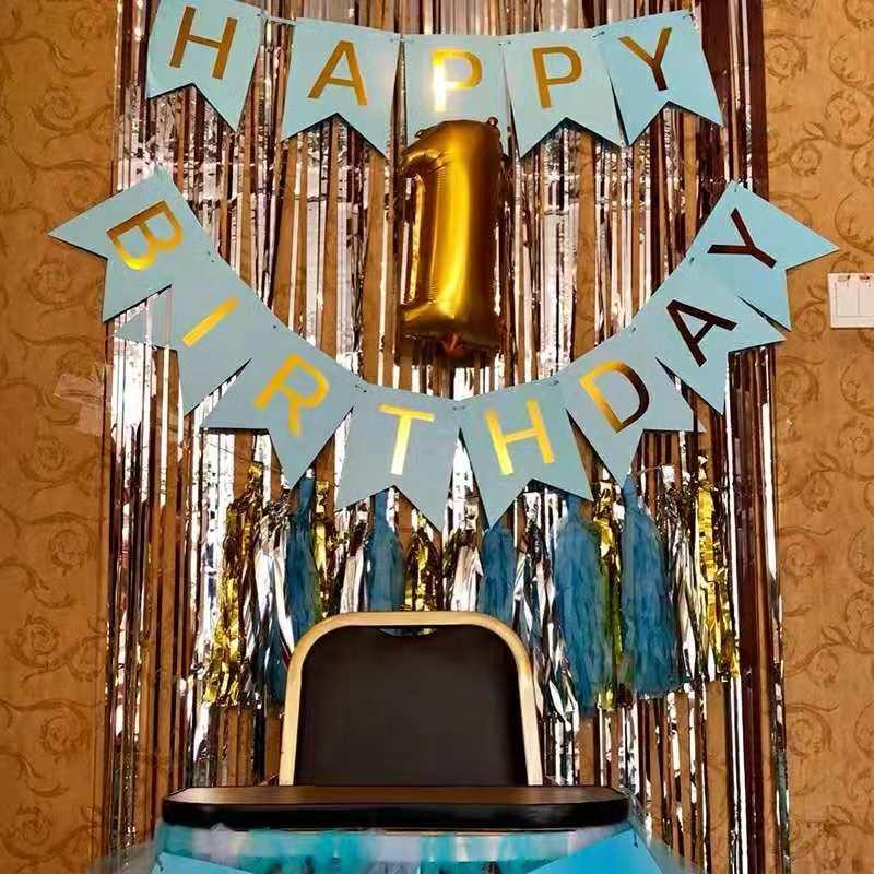 Happy Birthday Bandiritas Set By Ariana Shop.