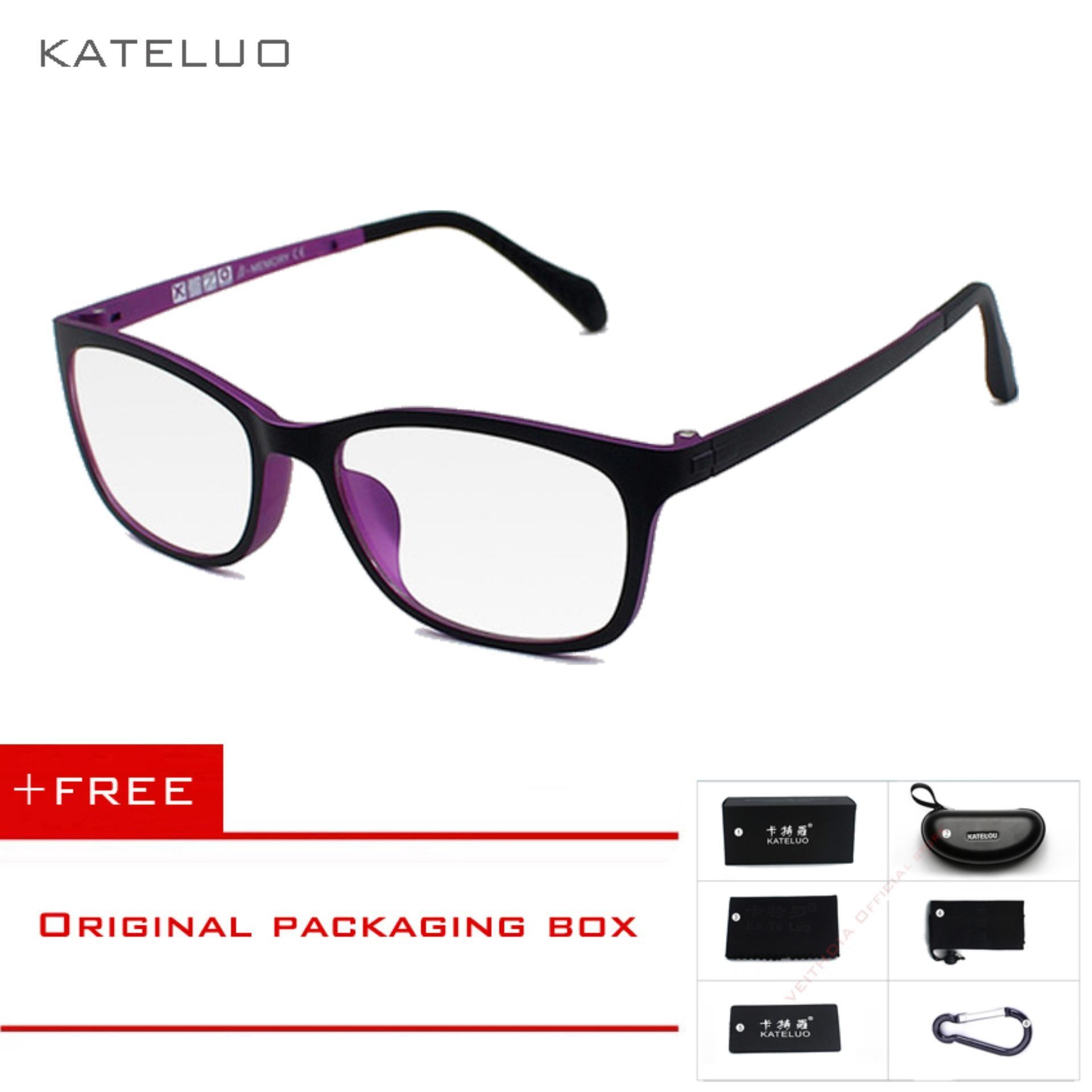 14927c7c89 KATELUO TUNGSTEN Computer Goggles Anti Laser Fatigue Radiation-resistant Glasses  Eyeglasses Frame 13031