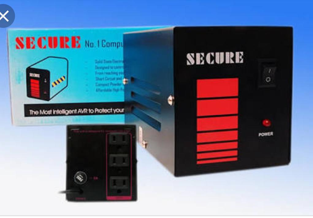 High Performance Secure 500w 220v Computer Avr (automatic Voltage Regulator) By Drex Technologies.