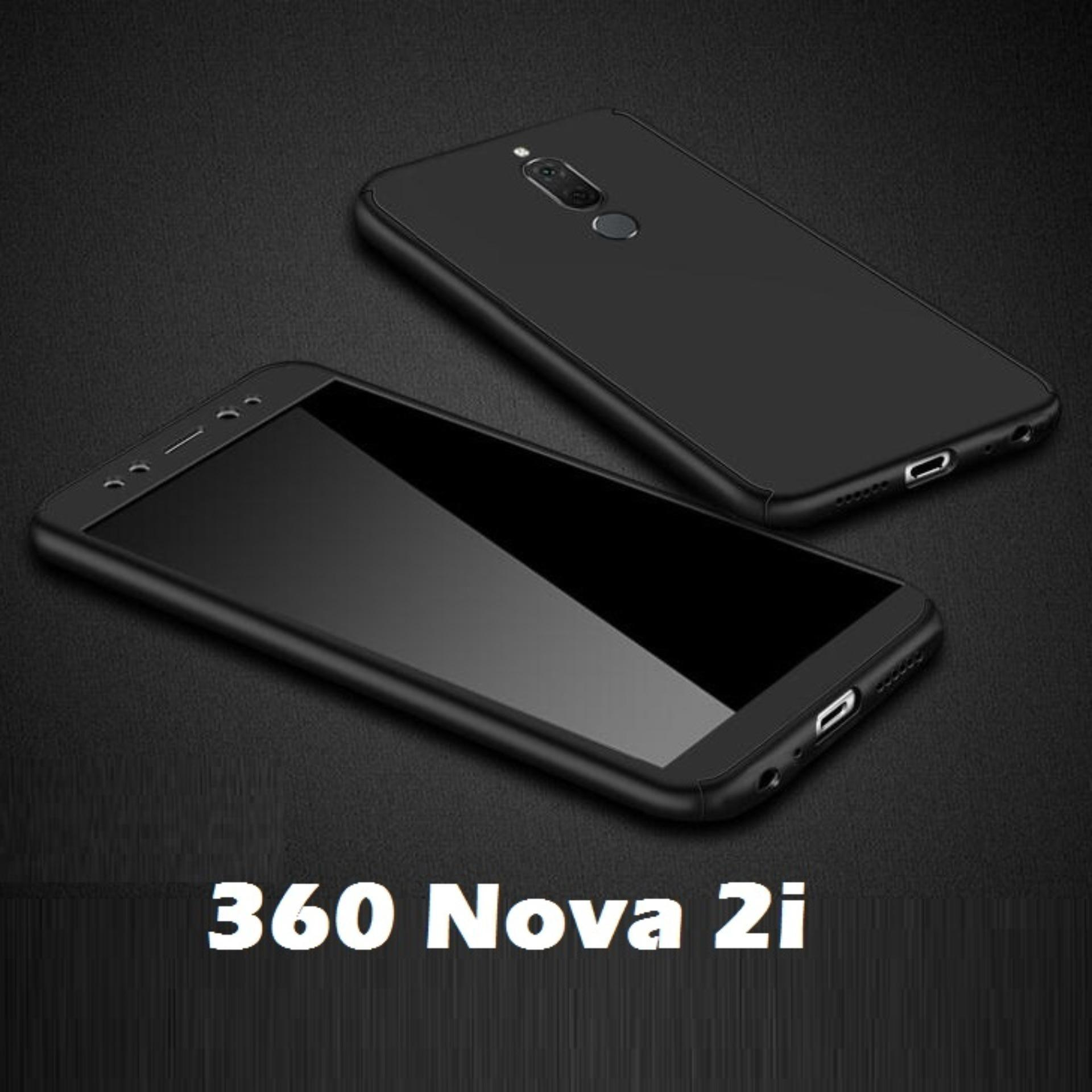 Huawei Nova 2i Case 360 Full Body Protection Hard Matte PC Cover