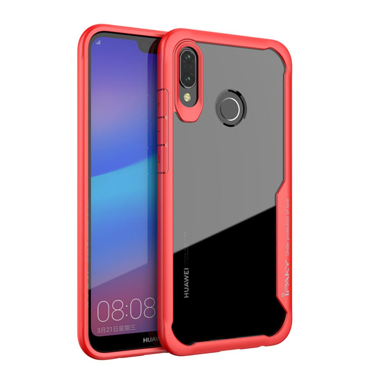 IPAKY Shockproof Phone Case for Huawei P20 Lite