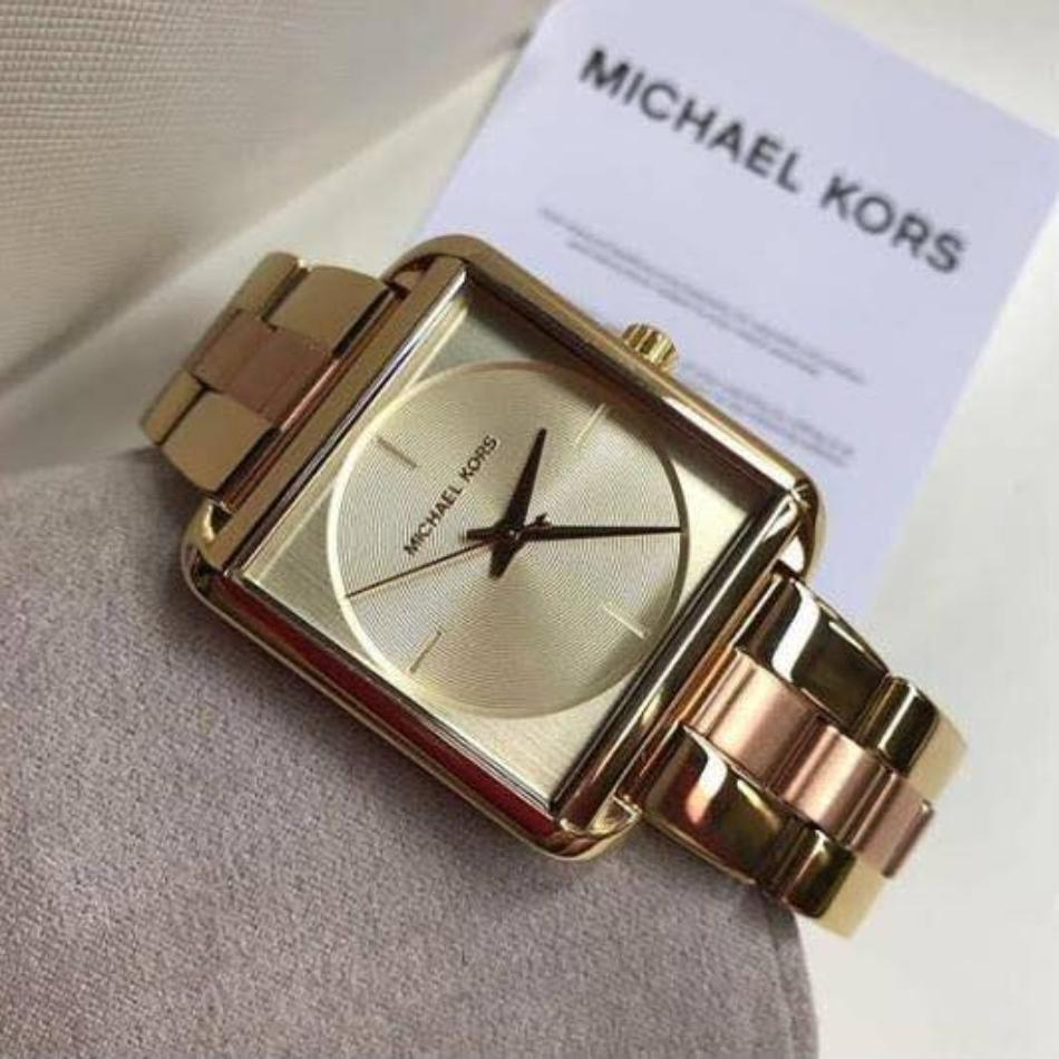 304763e4cbffd Philippines. Michael Kors MK3665 Lake Two Tone Gold Dial Ladies Watch