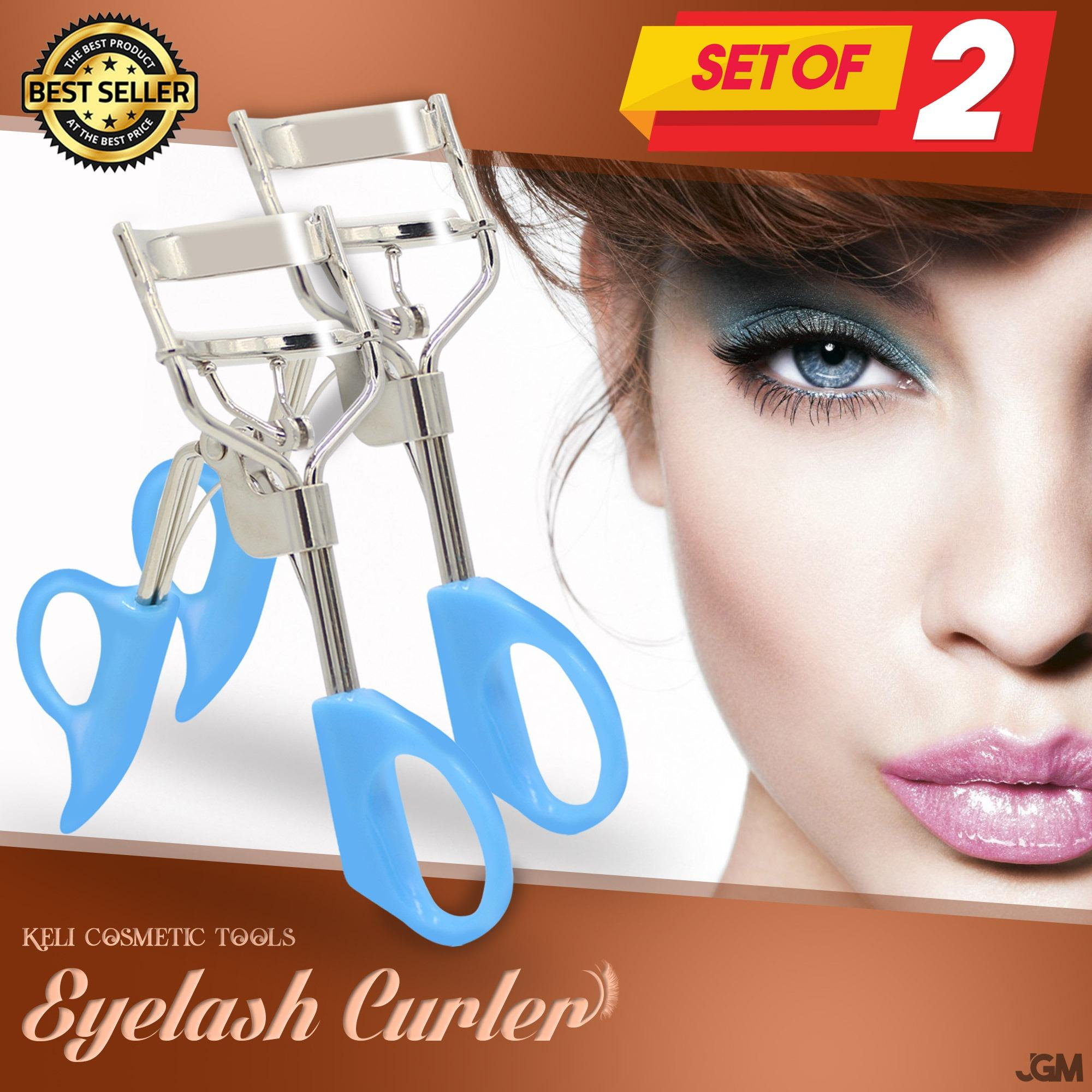 Keli Premium Long Lasting Eyelash Curler Easy To Use And Gives Your Eyelashes A Desired Curl SET OF 2 Philippines
