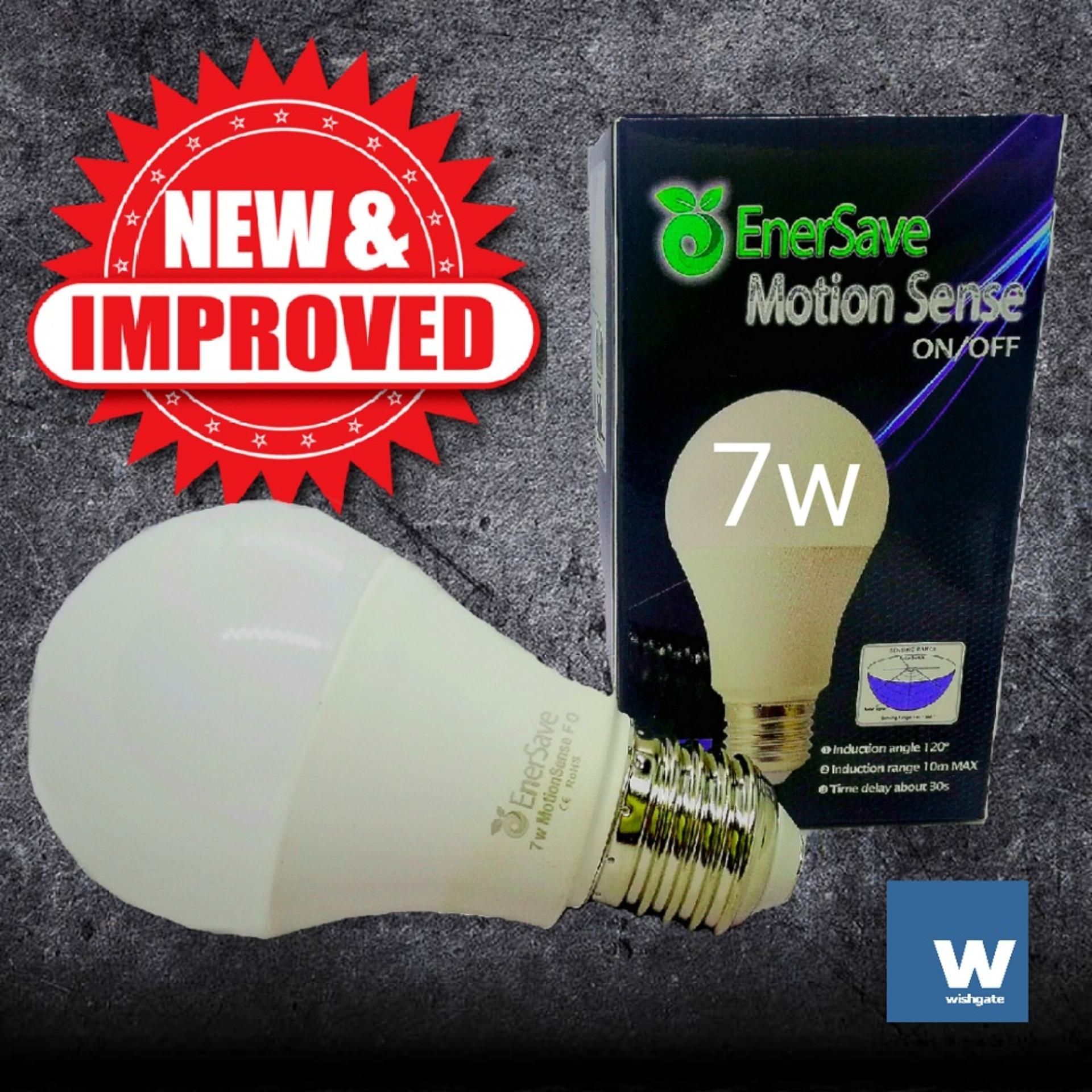 Light Bulbs For Sale Led Prices Brands Review In Automatic Low Power Emergency Wishgate Enersave Motion Sense Fo Bulb On When Movement Is Detected